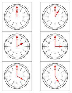 montessori clock printable clock nomenclature cards 18 parts of the clock both
