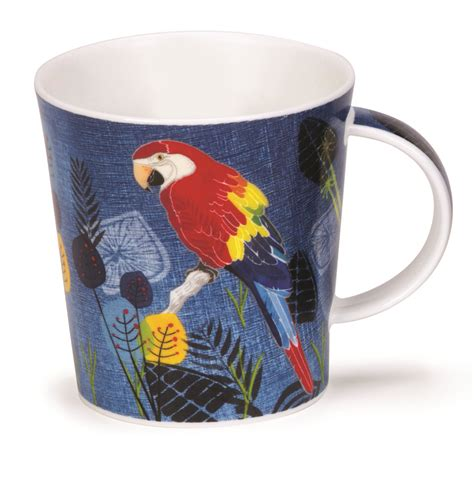 fancy mugs dunoon lomond flight of fancy mug macaw