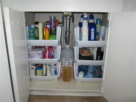 Bathroom Cabinet Organizer Ideas Bathroom Cabinet Update The Elm