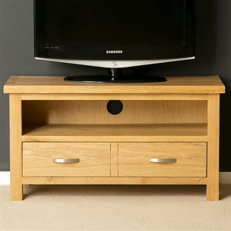 Oak Small Tv Stand Light Oak Tv Unit Solid Wood