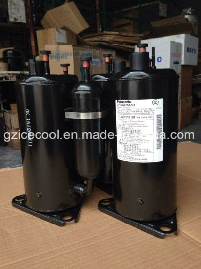 china 9000btu original new 1hp panasonic r22 rotary air conditioner compressor 2p17s225anq