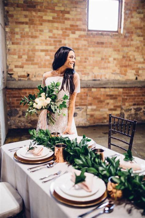 industrial wedding table decorations best 25 copper wedding decor ideas on copper