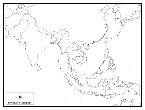 blank map of south asia outline map of africa with latitude and longitude blank