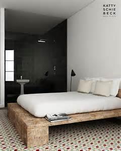 Minimal Platform Bed Diy Slaapkamer Inrichting Met Gerecycled Hout Inrichting
