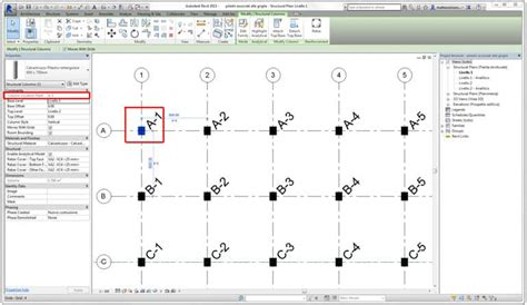 revit tutorial grid tutorial revit structural columns and grids bimon