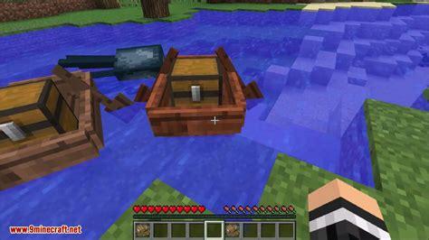 minecraft boat storage minecraft storage boats mod 1 12 2 1 11 2 travel around