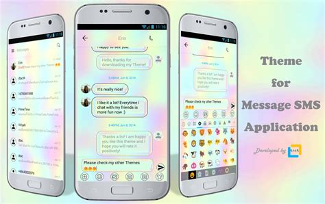 theme messages list sms messages holographic theme android apps on google play