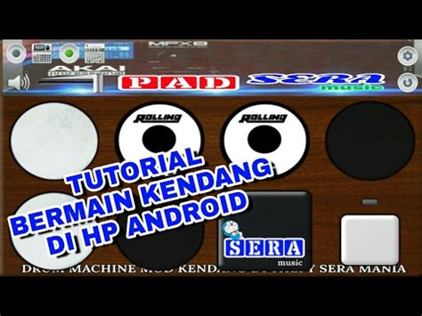 Tutorial Kendang Dangdut | tutorial simple cara bermain kendang di android drum