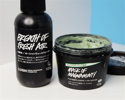 Lush Mask Of Magniminty collective haul lush mac nars hey bash