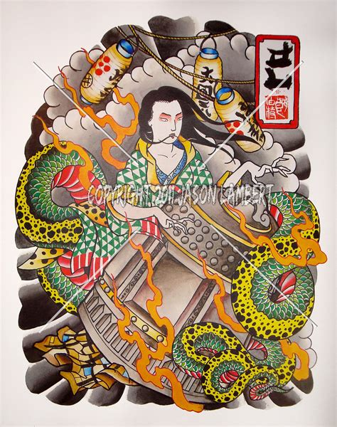 japanese traditional tattoo designs kiyohime