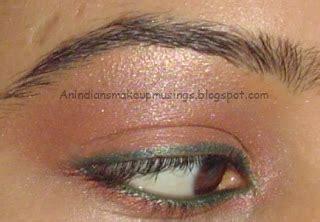 Sana Mascara 1 Pc an indian s makeup coral and green simple eye look