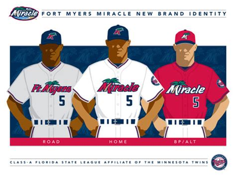 The Miracle Season Studio Miracle Unveil New Look For 2011 Milb