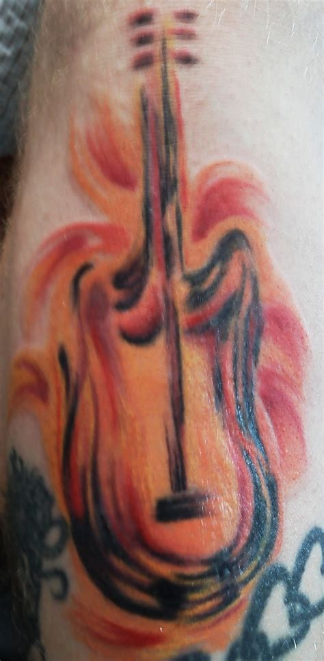 watercolor tattoo guitar 199 best guitar tattoos images on guitar