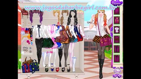 Home Design Makeover Games Jogos Da Barbie De Vestir E Maquiar A Barbie Pra Escola