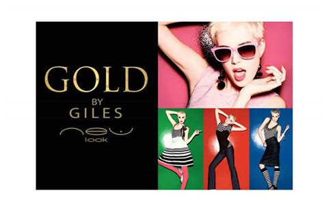Gold By Giles For New Look by Agyness Deyn En Gold By Giles Chez New Look