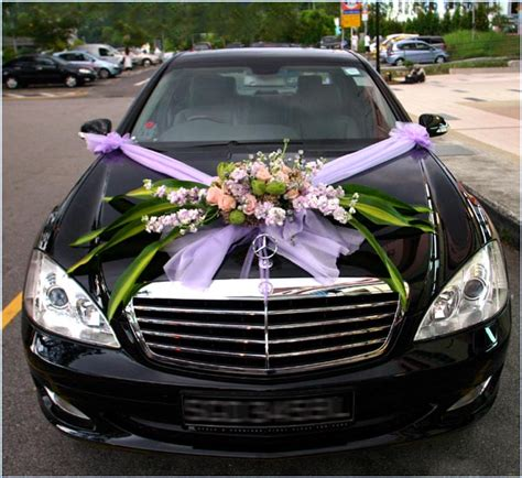 Wedding Car With Flowers by Wedding Car Decorations With Flowers Sang Maestro
