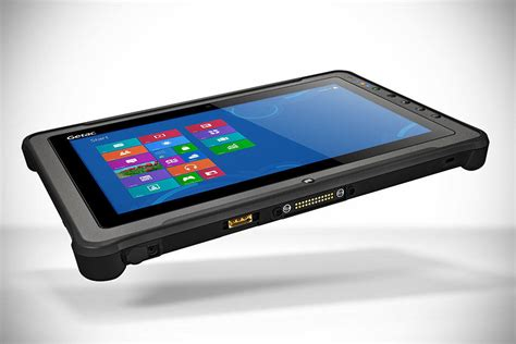 Rugged Tablets by Getac F110 Rugged Tablet Mikeshouts