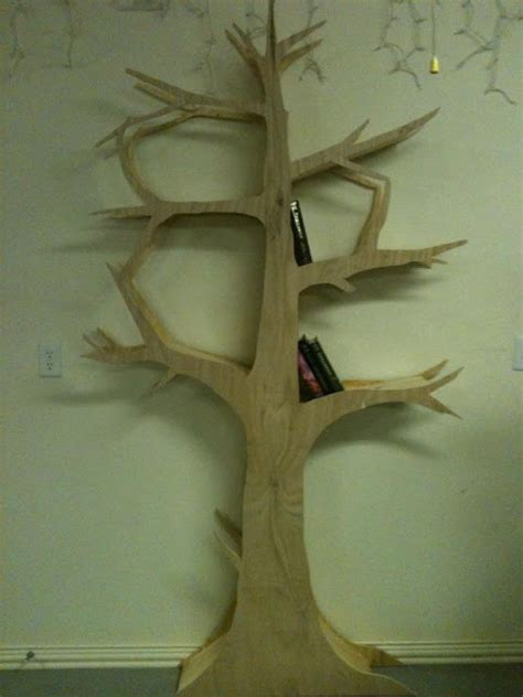 diy tree shelf home and diy