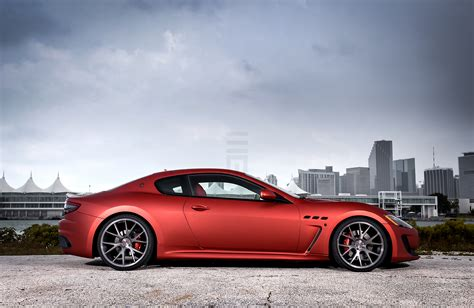 red maserati granturismo maserati granturismo matte red