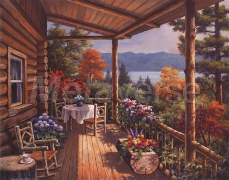 love this porch log cabin lodge pinterest 17 best images about rustic paintings that i love on