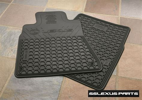Lexus Oem Floor Mats - lexus is250 is350 2wd 2006 2013 oem all weather floor