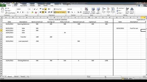 bookkeeping spreadsheets for excel laobingkaisuo com