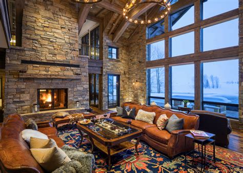 20 cabin living room designs 17 stunning rustic living room interior designs for your