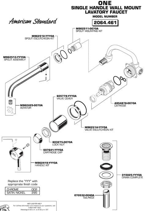 american standard kitchen faucet repair parts full size of american standard bathtub faucet parts american standard