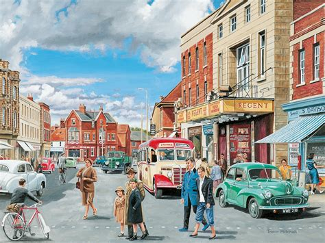 Large Wall Murals Uk 50 s scene wall mural 50 s scene wallpaper wallsauce