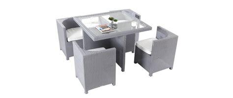 tavoli e sedie da giardino in resina salotto da giardino in resina intrecciata tavolo e sedie