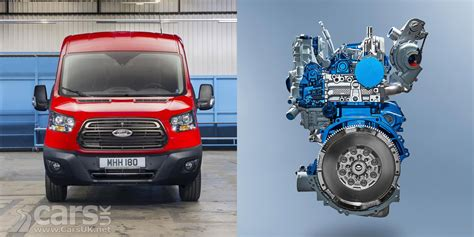 new ford diesel engine new ford ecoblue diesel engines debut in transit but