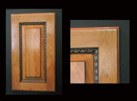 cabinet door with rings molding cabinetry and doors