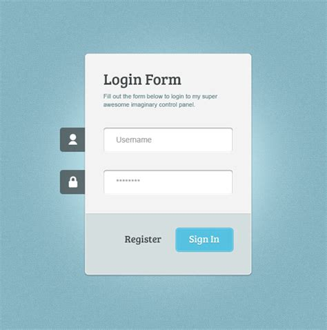 Login Design Template image gallery login page template