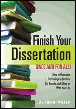 finish your dissertation finish your dissertation once and for all how to overcome