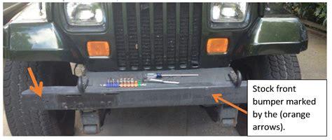 Towing Bar Bumper Guard Murah how to install a smittybilt src front grille guard bumper