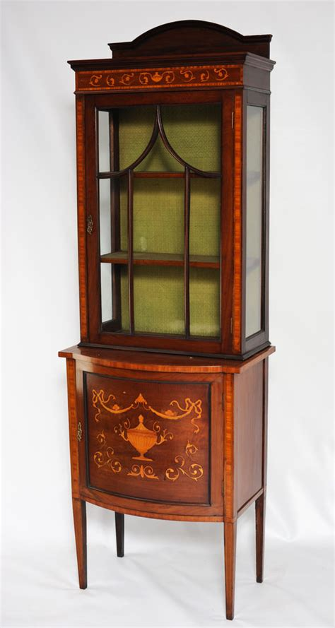 Display Cabinets Antique Edwardian Display Cabinet Antiques Atlas