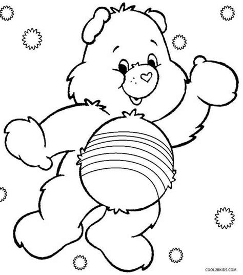 care bears coloring page 73 best images about care bear cheer bear 4 on pinterest