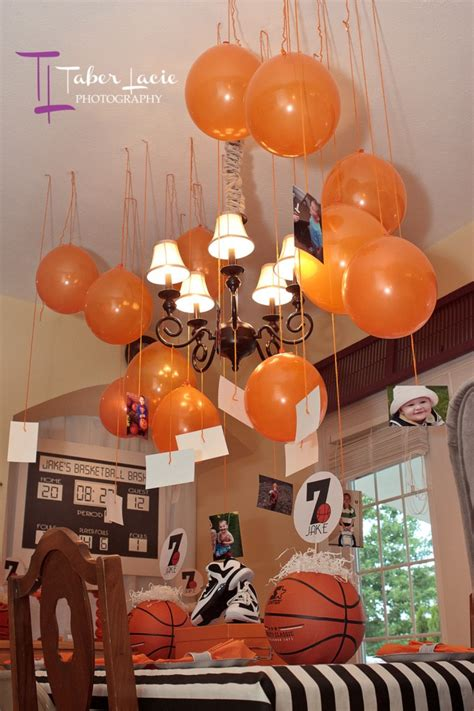 Basketball Themed Birthday Decorations by Basketball Birthday