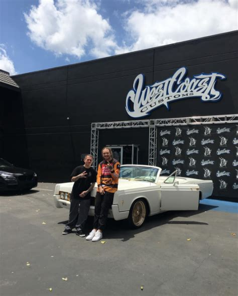 School Lincoln Continental by Post Malone S Custom School Lincoln Continental