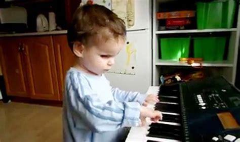blind toddler hailed musical genius world news