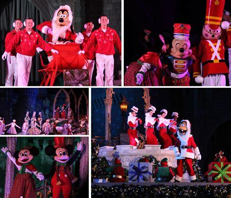 Celebrate The Season With Chocolate by Como 233 A Festa De Natal Do Mickey No Magic Kingdom