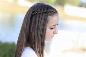 hair styles for who are eighty four years how to create a 4 strand waterfall braid cute girls