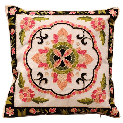 Compare prices on hand embroidery pillow online shopping buy low price hand embroidery pillow