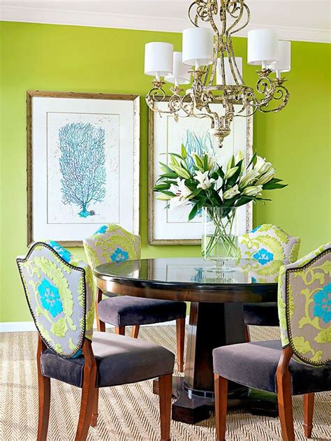 Bold Dining Room Colors by Green Color Schemes Style Fabrics And Bold Colors