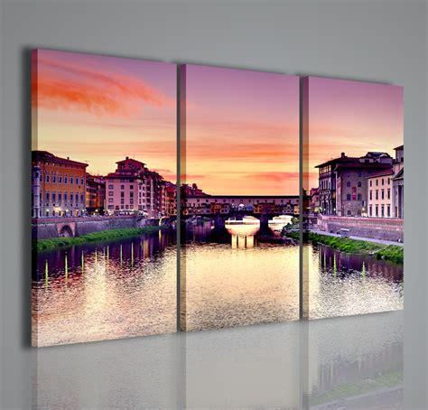 quadri per la casa firenze ponte vecchio quadri moderni su tela arreda in