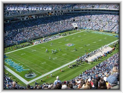 carolina panthers seating capacity nfl football stadiums carolina panthers stadium bank of