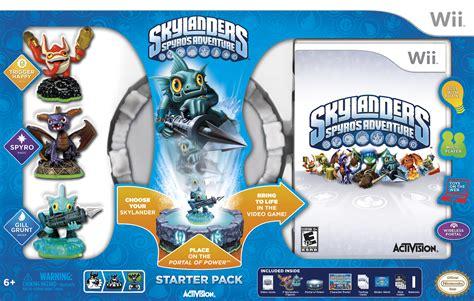 Skylander Spyros Adventures Wii spyro s adventure skylandernutts