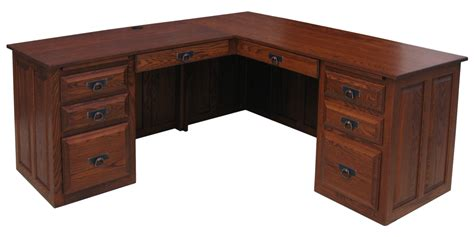 traditional executive corner desk amish furniture