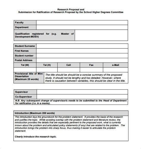 ms word proposal samples   ms word