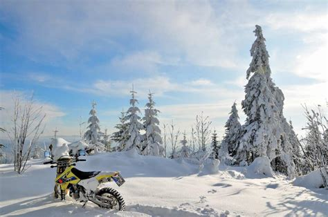 winter motorcycle winter riders motorcycle photo of the day